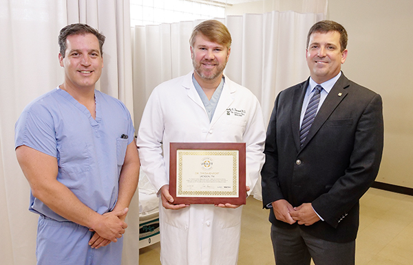 Dr. Timothy Davenport Awarded UroLift® Center of Excellence