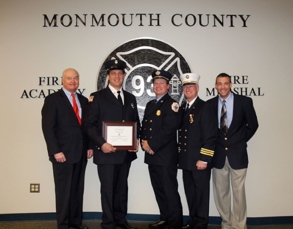 Locals Graduate From Monmouth County Fire Academy