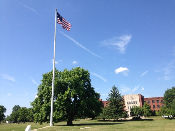 Fort Monmouth Flag Flies Again