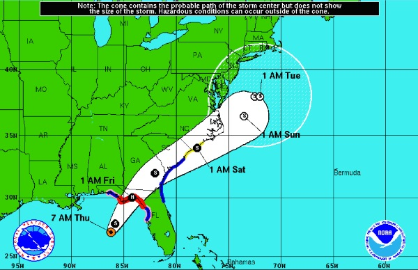 Hermine Expected To Become Hurricane, NJ To Feel Effects