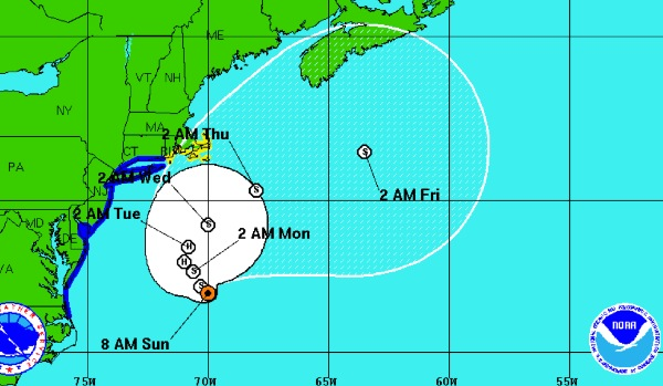 Latest Hermine Forecast Calls For Less Rain, Less Impact To Area