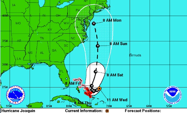 Hurricane Joaquin A Potential 'High Impact Weather Event' For New Jersey
