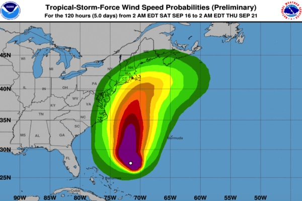 Hurricane Jose Could Bring Coastal Flooding, High Surf, Windy Conditions To Monmouth County