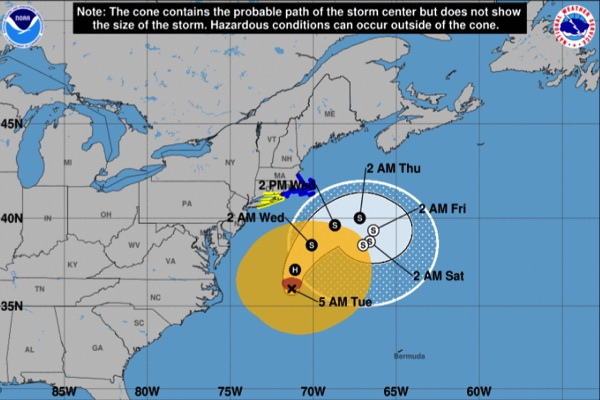 Tropical Storm Watch Cancelled For Monmouth County
