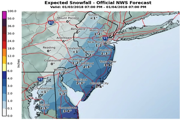 More Snow On The Way Wednesday Night