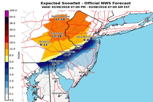 More Snow On The Way Tuesday Night,