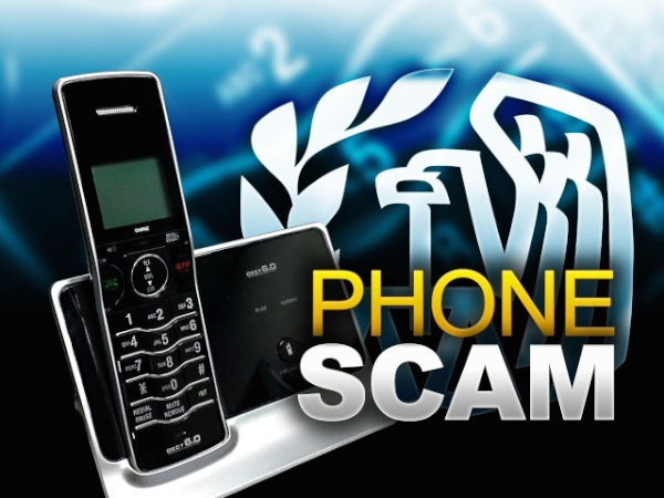 Local Police Warn Residents Of IRS Scam
