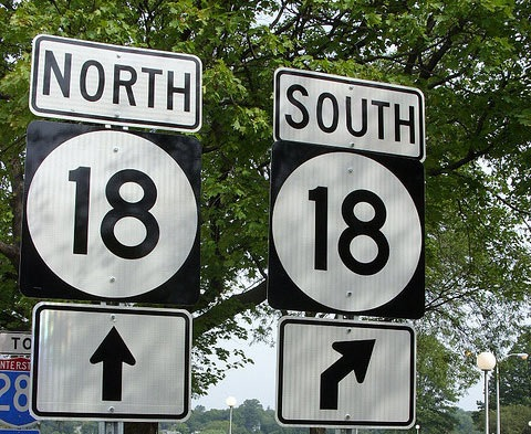 Route 18 Work Scheduled For May 18