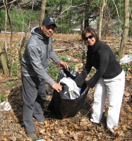 Cleanup Day in Eatontown Brings Out 130 Volunteers