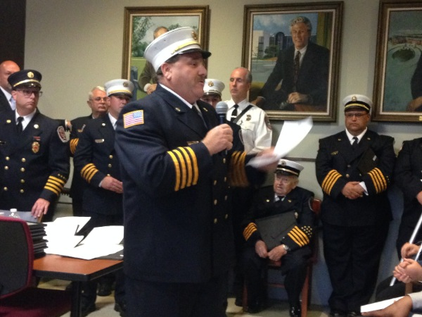 Eatontown Firefighters, Police Honored For Work During Apartment Fire