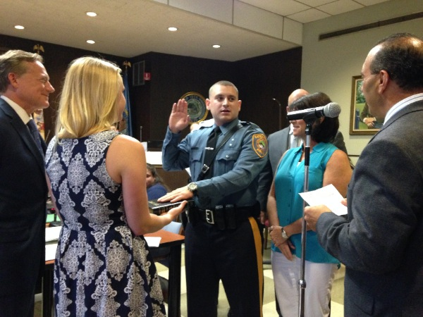 Five Eatontown Police Officers Receiving Promotions