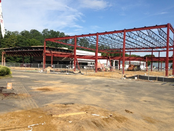 Audi Dealership Under Construction In Eatontown