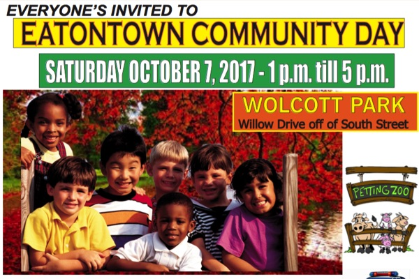 Eatontown Community Day Set For Oct. 7