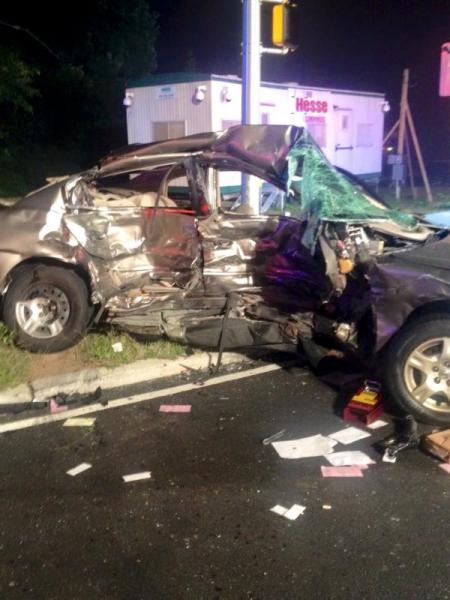 Man dies after accident at parkway exit 105 entrance in - Car accident garden state parkway ...