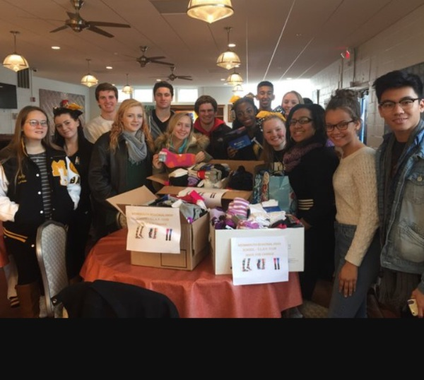 Monmouth Regional Students Giving Back To The Community