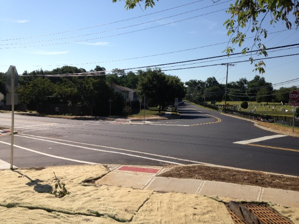 Major Eatontown Intersection Reconfiguration Complete