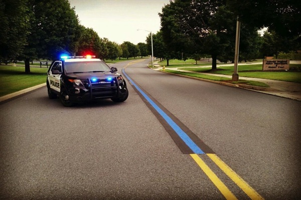 Eatontown To Honor Police Officers With Blue Line
