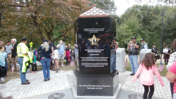 New Jersey Gold Star Family Monument Dedicated