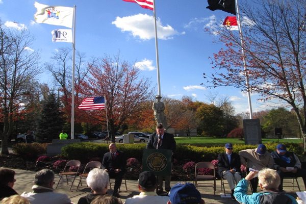 Eatontown Veterans Day Remembrance-2016