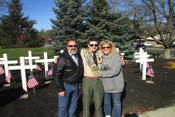 Eatontown Veterans Day Ceremony Features Eagle Scout Project By Local Boy Scout