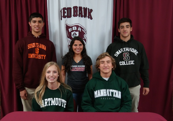RBR Student Athletes Sign To Play College Sports