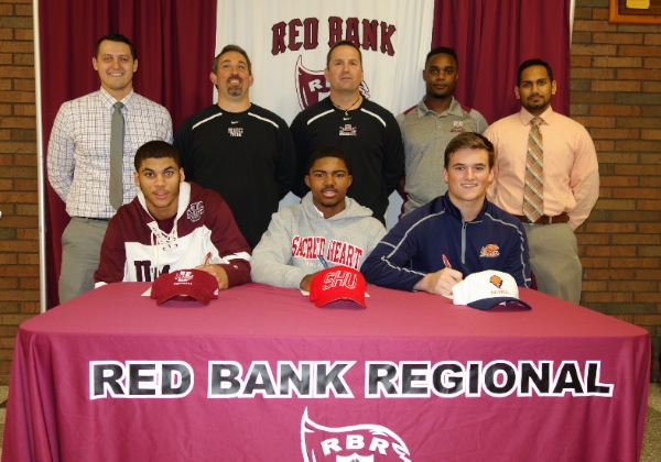 RBR Football Players Sign To Play College Ball