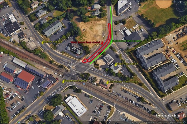 Portion Of Sycamore Avenue In Little Silver To Close April 17