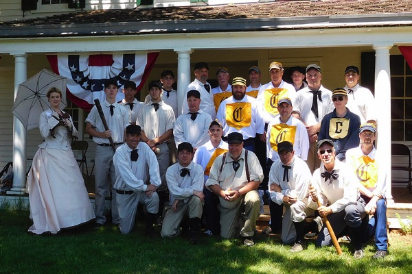 Parker Homestead Will Take Crowds Out To The Old Ball Game