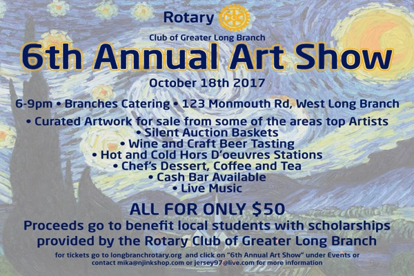 LB Rotary Art Show: Great Art for Homes and Offices Helps Local Scholarships