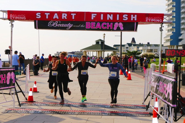 Beauty and the Beach Race Brings Out 600 Runners to Long Branch