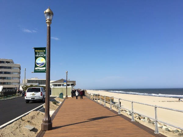 Letter To The Editor: Once Again-No Traffic Along Long Branch Boardwalk