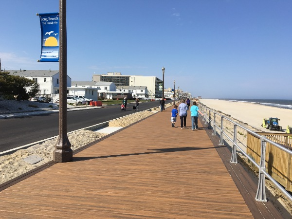 Long Branch Boardwalk Ribbon Cutting