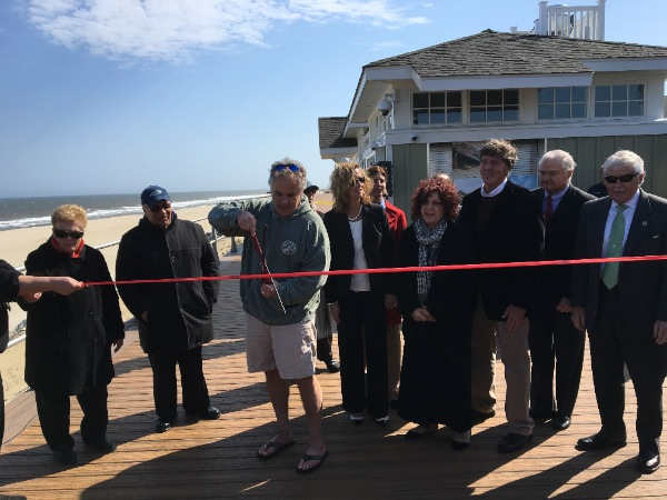 Long Branch Boardwalk Officially Opens