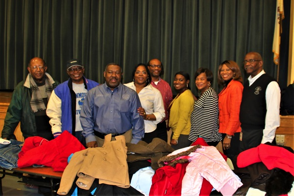 Long Branch NAACP Gives Out Hundreds Of Coats To Community