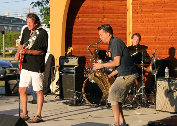 Bob DelRosso Band Blues by the Beach