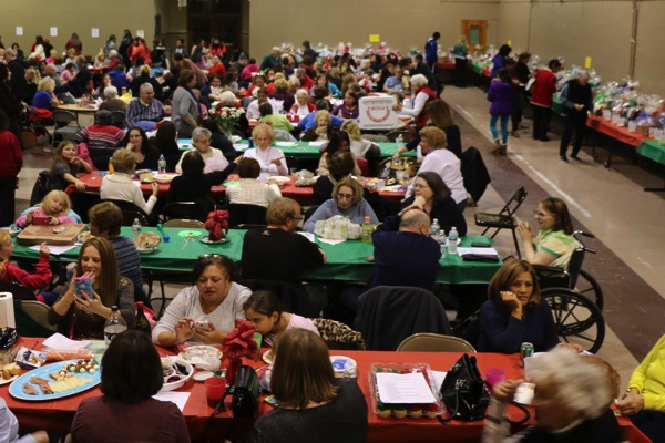Holy Trinity Rosary Altar Holiday Auction A Big Success