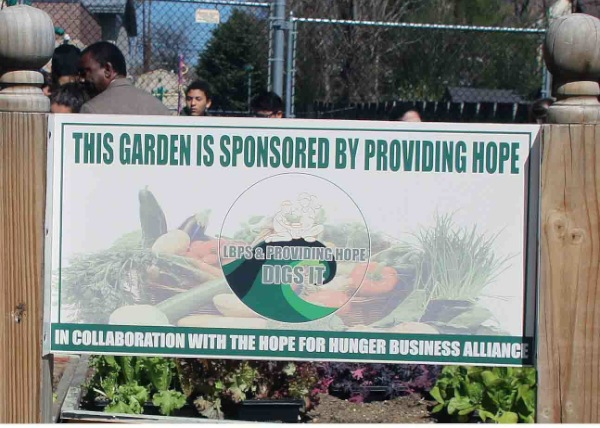 Long Branch Student Planting Gardens For The Needy