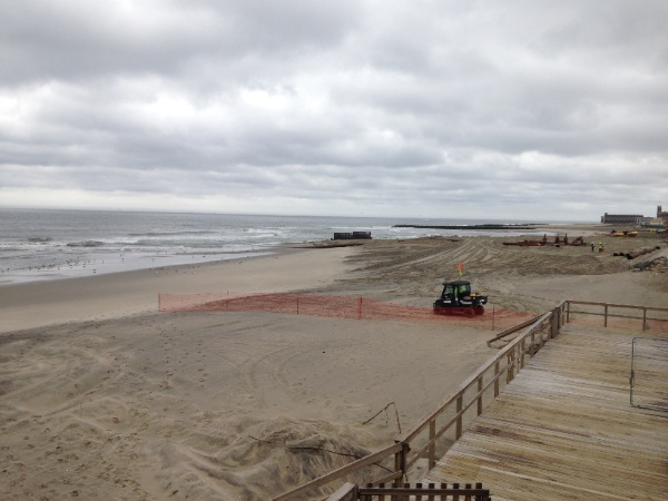 Final Phase Of Beach Replenishment In Long Branch Begins