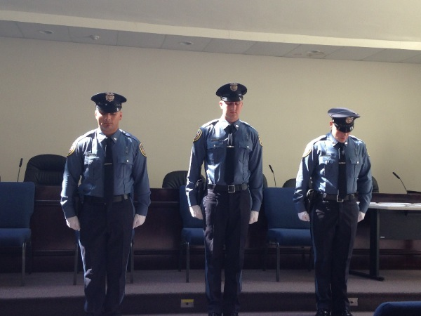 Long Branch Police Department Adds 5 To Its Roster