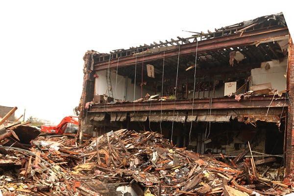 More Of Long Branch's Broadway Torn Down