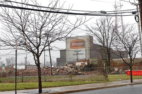 More Broadway Buildings Demolished