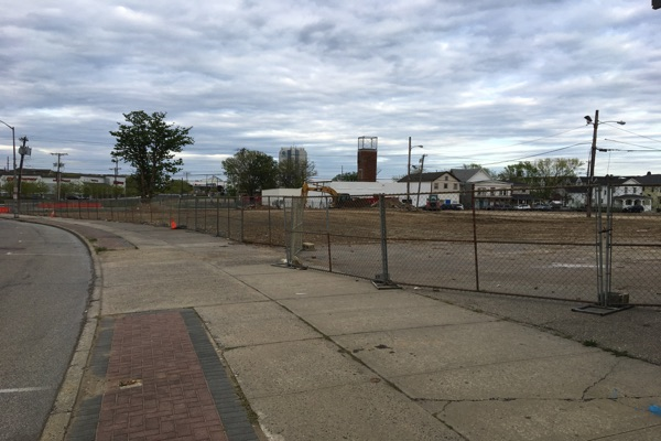 Cleared Broadway Lots Will Be Used For Long Branch Beach Parking