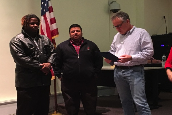 Long Branch Bus Aide, Driver Honored By City