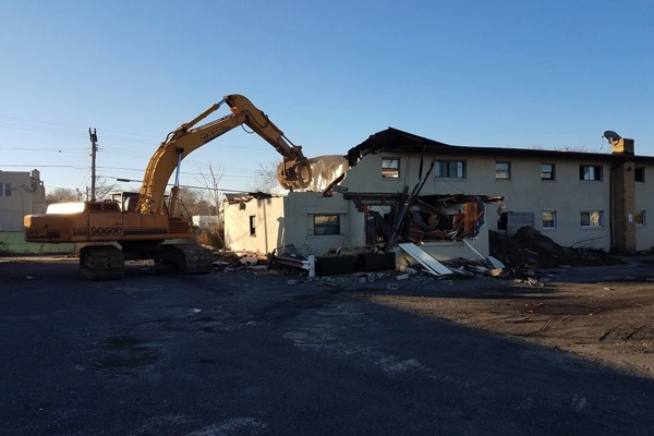 More Buildings Demolished To Make Way For Long Branch Chabad Project