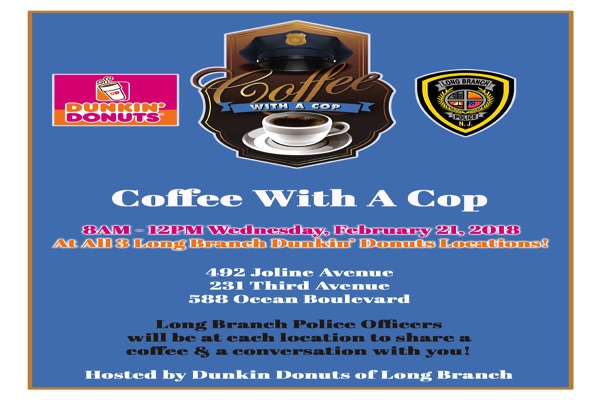 Have Coffee With A Cop In Long Branch