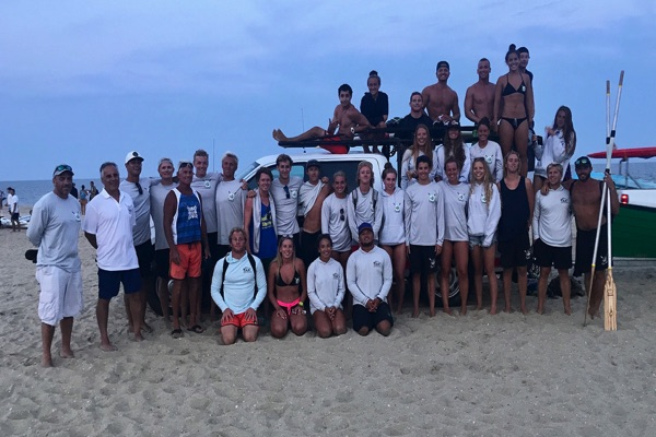 Long Branch Lifeguards Take Second Place In Tournament