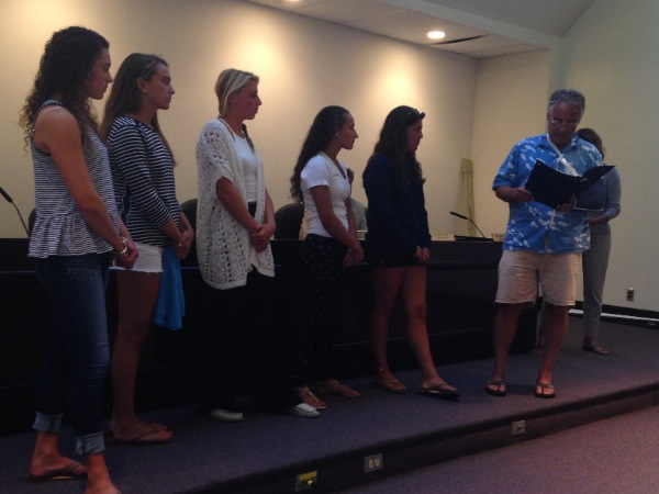 Long Branch Women Lifeguards Honored By City Council
