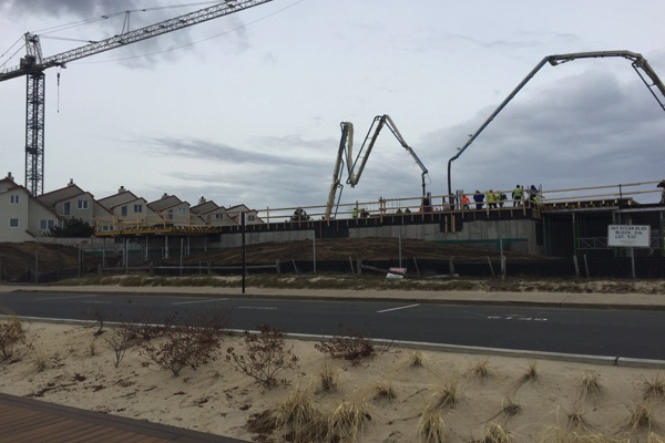 Latest Long Branch Oceanfront Project Shaping Up