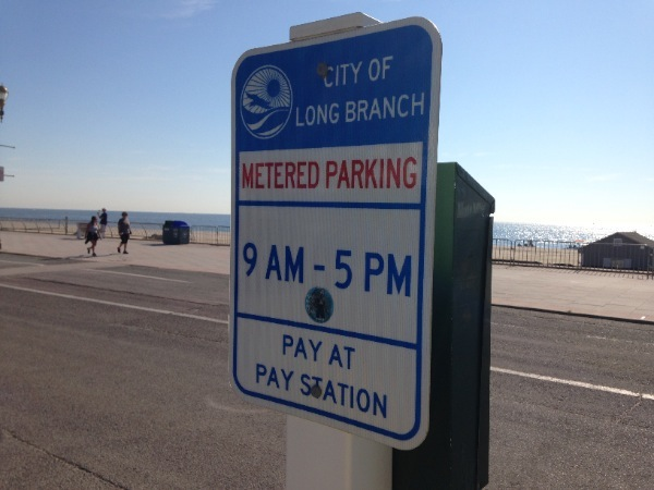 Long Branch Metered Parking In Effect Until Sept. 30