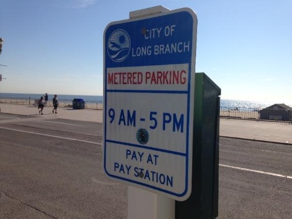 Long Branch Metered Parking In Effect Until Sept. 30